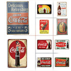 Coca Cola Advertising Vintage Retro Style Metal Tin Signs, 10 Styles Available $14.99 USD on eBay
