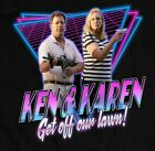 1980'S RETRO STYLE KEN AND KAREN GET OFF OUR LAWN POPULAR MEME SHIRT $24.99 USD on eBay