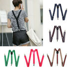 Elastic Y-Shape Braces Men's Women's Solid Color/Adjustable Suspenders Hot