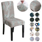 1Pcs Spandex Fabric Stretch Dining Slipcovers Room Chair Seat Covers