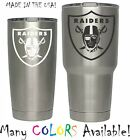 Oakland Raiders Football Decal for NFL YETI Tumbler 20 30 Ozark RTIC Sticker $1.99 USD on eBay