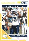 2011 Score Gold Zone San Diego Chargers Football Card #244 Shaun Phillips $2.25 USD on eBay