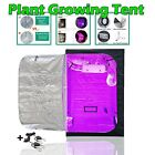 Plant Growing Tent For Indoor Light Accessories Hydroponic Box Mylar + Ratchet
