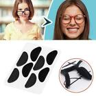 4 Pairs Half Moon Shape Carded Soft Foam Cushion Stick-on Nose Hot A5j1 V5y2