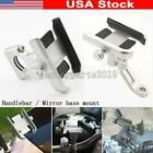 Silver Aluminum Motorcycle Cell Phone Holder Mount For Harley Davidson Touring $23.96 USD on eBay