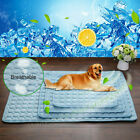 Pet Cat Dog Summer Cooling Gel Mat Bed Heat Relief Non Toxic Cushion Pads S-XL