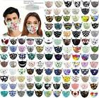Beautiful Floral Reusable Breathable Protection Face Cover Women Mask 2 Filter