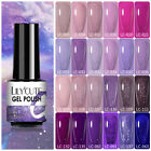 7ml LILYCUTE Gel Nail Polish Soak Off Glitter Holographics Gel Varnish 112Colors