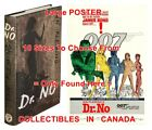 "DR. NO 1958 1st Ed. JAMES BOND 007 =BOOK & 1962 MOVIE POSTER 10 Sizes 14""-4.5 FT $47.28 USD on eBay"