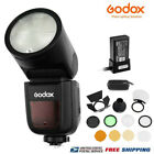 V1-C Speedlite Flash Light TTL HSS With Godox AK-R1 Accessories Kit For Canon