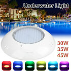 30/35/45W Waterproof Swimming Pool Light LED Underwater Lamp With Remote Control