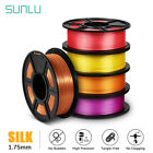 SUNLU 3D Printer Filament PLA PLUS SILK 1.75mm 1KG/2.2LB Printing supplies