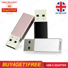 USB C Female to USB A Male Adapter Type C Charger Charging...