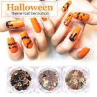 Holloween Christmas 3D Nail Rhinestones Spider Nail Stickers Butterfly Decors