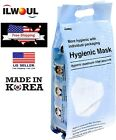 (30 Pack) ILWOUL Korean 3D Hygienic Face Mask Cover 4-Layer Filter Made in Korea