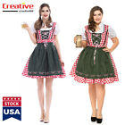 Bavarian Oktoberfest Carnival Beer Festival Housemaid Oversize Halloween Dress