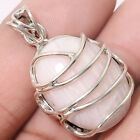 Handcrafted - Pink Aragonite 925 Sterling Silver Pendant Jewelry SDP49382