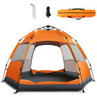 DOC 1 Min Setup Pop Up Beach Tent Sun Shelter UV Protection for Camping Beach