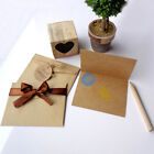 6Pcs/Set Thank You Greeting Paper Cards Envelope Party Wedding Reception Crafts