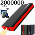 Portable 2000000mAh Power Bank Backup 4 USB External Battery Charger For Phone