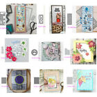 Album Bubble Rectangle Frame Metal Cutting Dies Diy Scrapbooking Paper Crafts