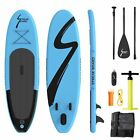 10ft Inflatable Stand Up Paddle Board Non-Slip Deck SUP Paddleboard Accessories