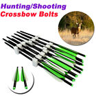 """Archery Aluminum Arrow Crossbow Bolts for Outdoor Targeting Hunting 16/18/20/22"""""""