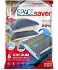 Spacesaver Premium Vacuum Storage Bags. Hand-Pump for Travel!