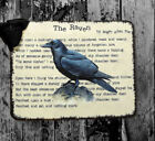 Hang Tags THE RAVEN EDGAR ALLEN POE TAGS or MAGNET 327 Gift Tags