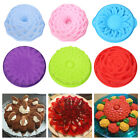 Sun Flower Bird's Nest Flower Cake Mould 3D Silicone Mould Rose Dessert Tool