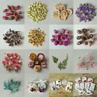 1bag Diy Real Dried Flower Epoxy Resin Aromatherapy Candle Pendant Making Craft