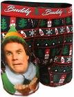 New Men's Buddy The Elf Son of a Nutcracker Holiday Christmas Ugly Boxer Briefs