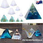 Pyramid Silicone Mold Epoxy Resin Jewelry Making Mould Pendant Craft Diy Supply
