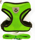 Mesh Small Dog Harness And Leash Set Puppy Cat Vest Harness For Pug Bulldog