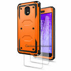 For Samsung Galaxy J3 Orbit/J3 Star Shockproof Case Cover With Screen Protector