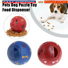 Pet Interactive Puzzle Toy Food Dispenser Tough-Treat Ball Dog Puppy Play Toy UK