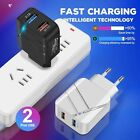 Dual USB 28W 3.1A QC3.0 Fast Charging Quick Charger Adapter for iPhone Suamsung