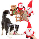 Pet Christmas Toy Dog Chew Toys Sound Squeaker Pet  Xmas Gifts Interactive