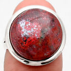 Sonora Sunrise - Cuprite Blood 925 Sterling Silver Ring s.7.5 Jewelry 2725