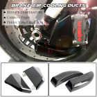 108mm Carbon Air Duct Caliper Brake Cooling for KAWASAKI NINJA ZX-10R 2011-2020