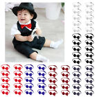 10Pcs Boys Kids Pre Tied Adjustable Bowtie Easter Holiday Party Dress Up Bow Tie