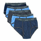 New Fruit of the Loom Men's Big and Tall Stripe and Solid Brief Underwear