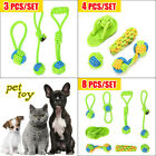 Braided Cotton Rope Dog Toys Teething Toys For Small Medium Large Dogs Gift set