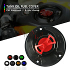 CNC Keyless Tank Fuel Gas Caps Cover for honda CBR1000RR/Fireblade ALL YEARS