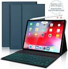 """For iPad Pro 12.9"""" 4th 3th Gen 2020 /18 Detachable Bluetooth Keyboard Case Cover"""