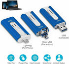 High Speed Flash Drive Pen Memory Thumb Stick For iPhone 11 XR External Storage