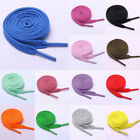 1 Pair 120cm Colorful Flat Shoelace Sneakers Platte Schoenveters Cotton Shoelace