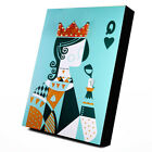 King/Queen String Art on Board Novelty String Painting DIY Craft Nails String