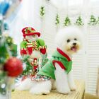 Christmas Dog Dress - Puppy Windproof Hoodie Pet Warm Coat Sweater for Small Med