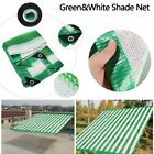 Rate Green&White Sunscreen Cloth Shade Cover Anti-UV Sunshade Net Car Sunblock